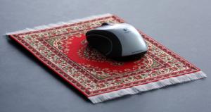 Mousepad Teppich